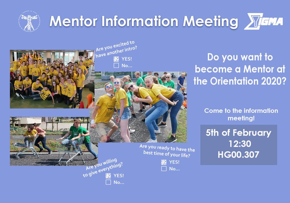 Mentor Information Meeting