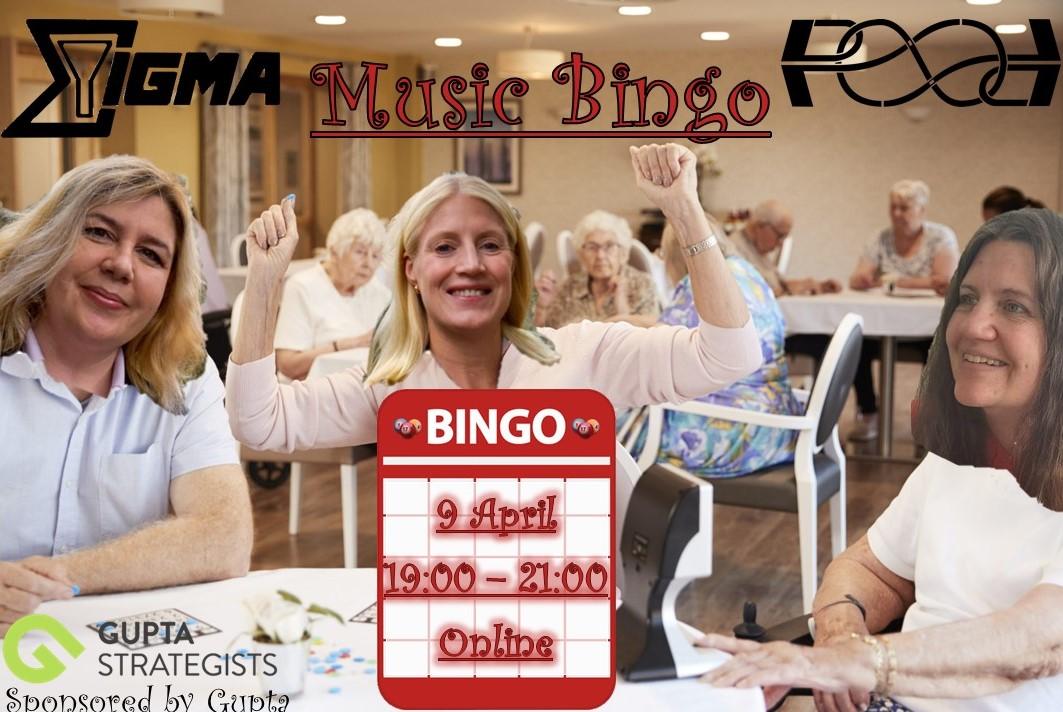 Gupta Music Bingo with Desda