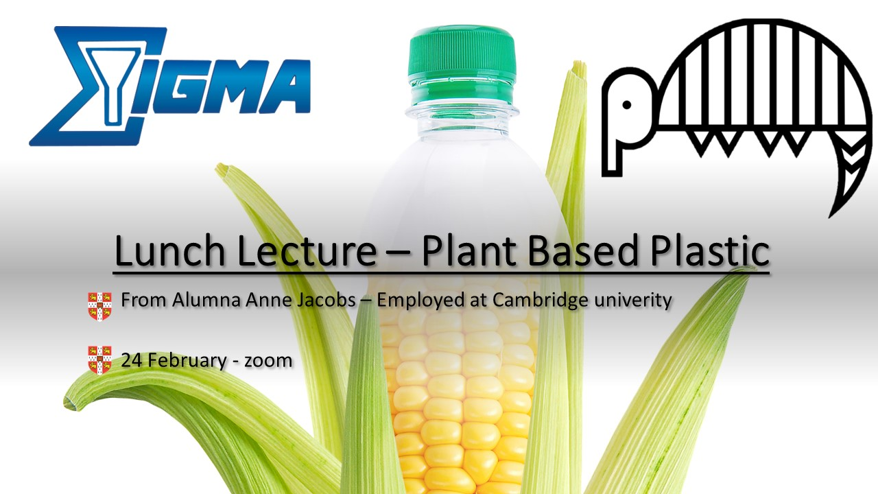 Lunch Lecture Plant Based Plastics