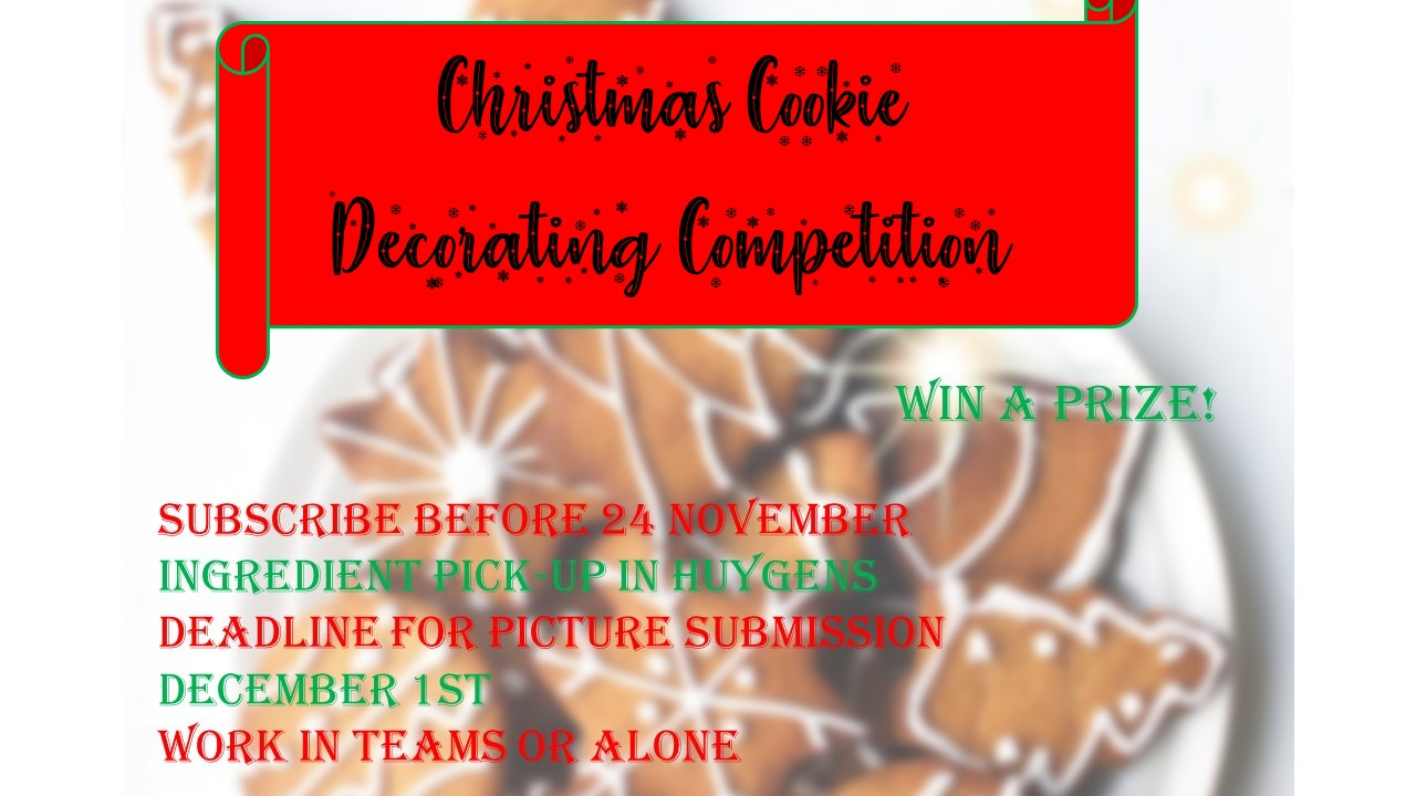Christmas Cookie Decorating Competition